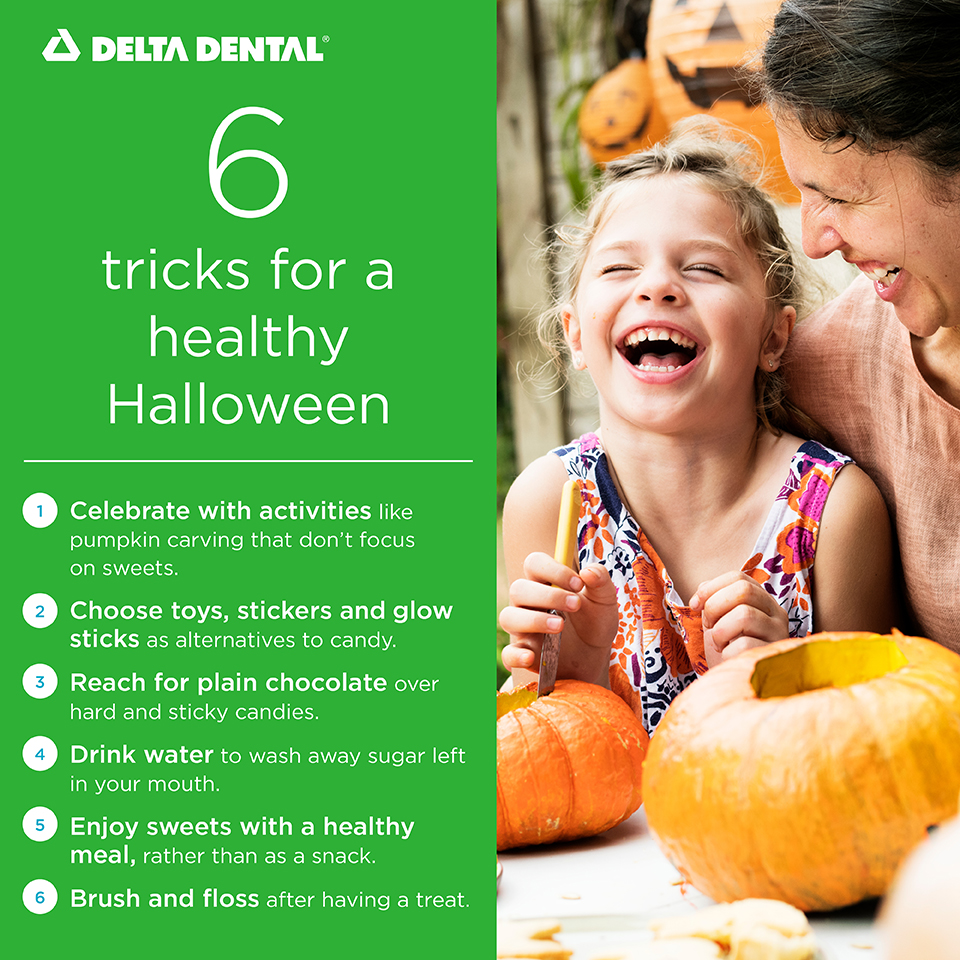 Halloween may look different this year, but candy is still spooky for your teeth