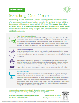 Avoiding Oral Cancer