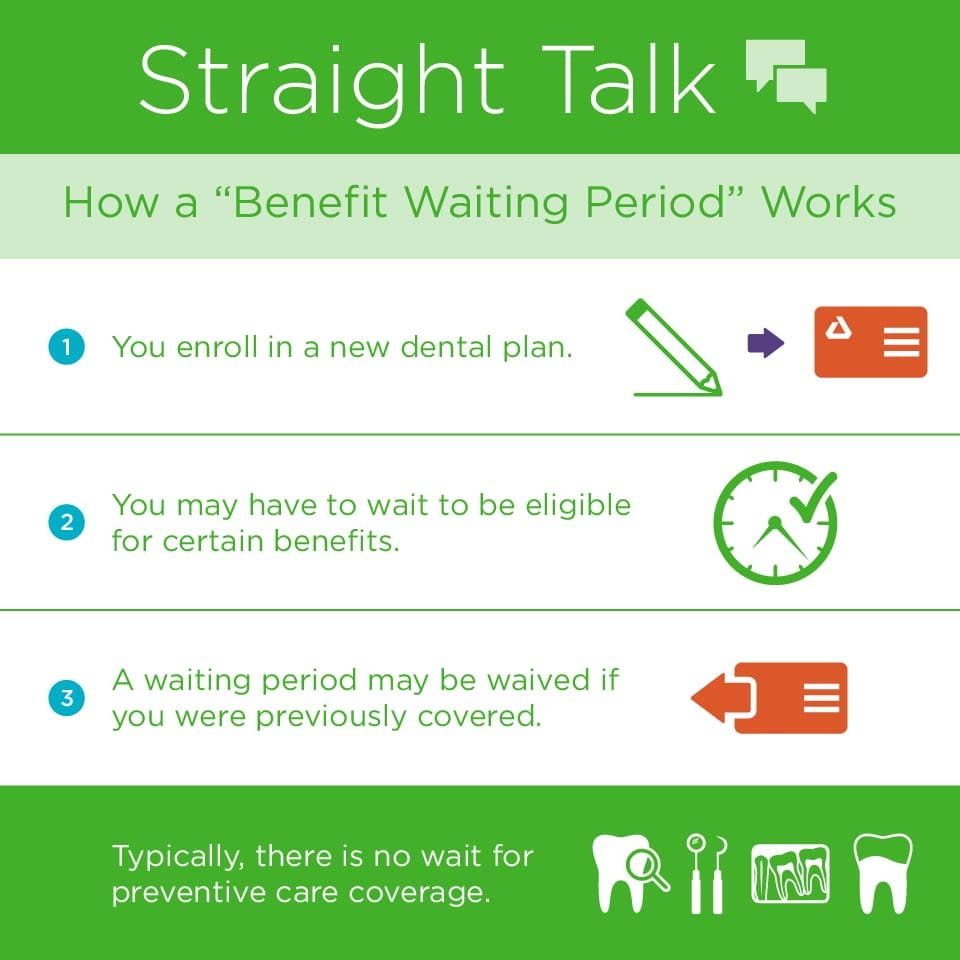 "What is a ""Benefit Waiting Period""? - Delta Dental of Illinois"