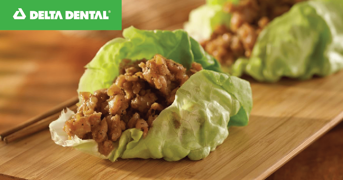 Guacamole Chicken Lettuce Wraps
