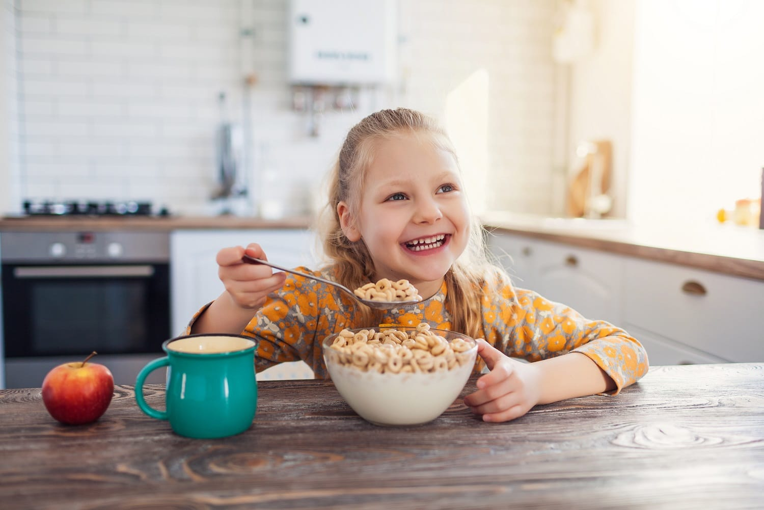 Better breakfasts for brighter smiles