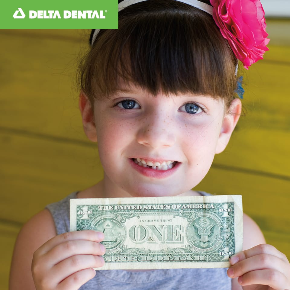 In 2015, the Tooth Fairy gave a total of $256 million nationally for lost teeth, up just .6 percent from 2014 in spite of 5 percent more parents saying she left money for their children this year.