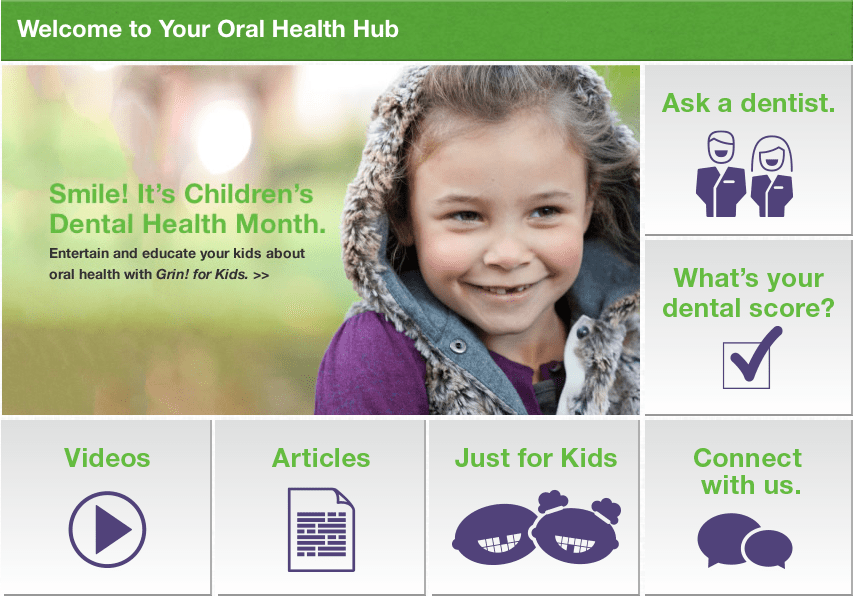 oral health hub launch
